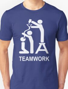 TEAM WORK funny T-Shirt