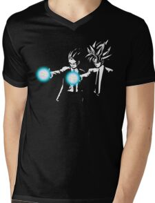 DBZ Fiction Mens V-Neck T-Shirt