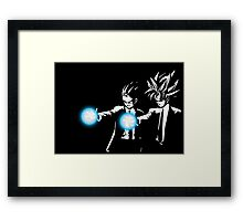 DBZ Fiction Framed Print