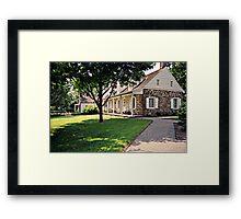 The Van Riper - Hopper House, Wayne NJ, USA Framed Print