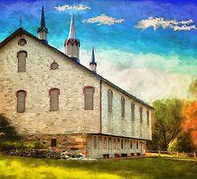 Centennial Barn by Lois  Bryan