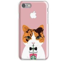 Kitty Coffee iPhone Case/Skin
