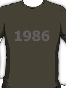 DOB - 1986 T-Shirt