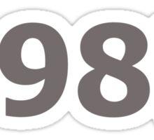 DOB - 1987 Sticker