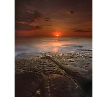 """The Darkest Days"" ∞ Merimbula, NSW - Australia Photographic Print"