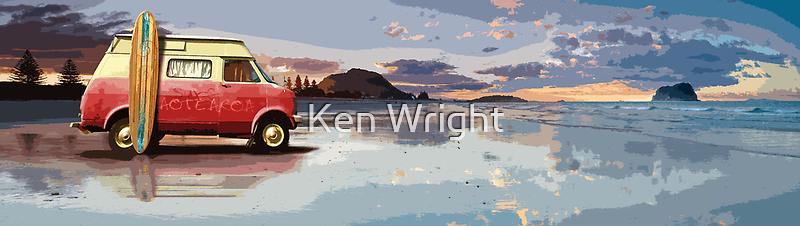 Surf Aotearoa by Ken Wright