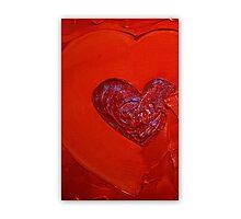Heart Art Photographic Print