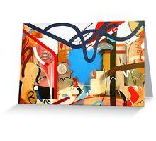 Abstract Interior #7 Greeting Card