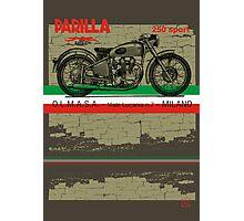 Parilla 250 Sport Photographic Print