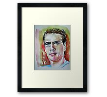 Wesley (Alexis Denisof)featured in The Group Framed Print