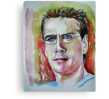 Wesley (Alexis Denisof)featured in The Group Canvas Print