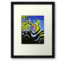 BUSINESS AS USUAL 1 Framed Print