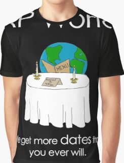 History Gets More Dates Graphic T-Shirt