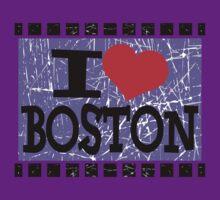 I love Boston by Nhan Ngo