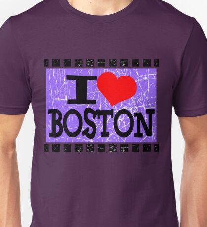 I love Boston Unisex T-Shirt