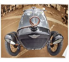 Uffindell Austin 7 1928 Poster