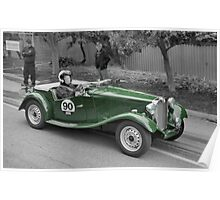 MG TD 1951 Poster