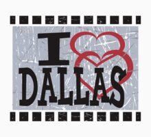 I love Dallas Kids Tee