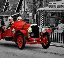 Alfa Romeo G1 1921 by Geoffrey Higges