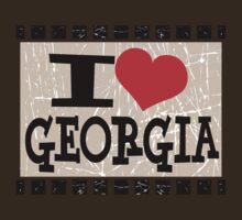 I love Georgia by Nhan Ngo