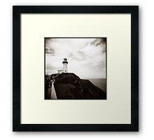 { the watcher } Framed Print