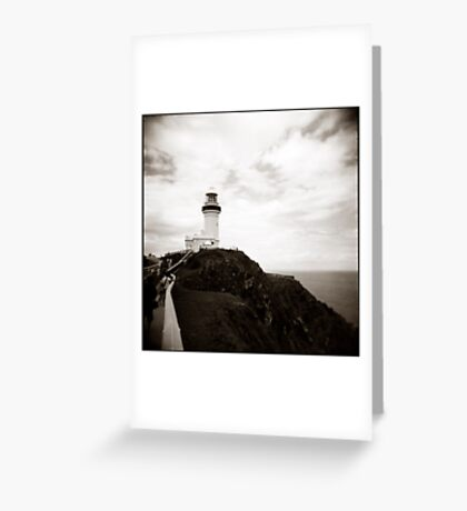 { the watcher } Greeting Card