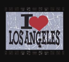 I love Los Angeles by Nhan Ngo