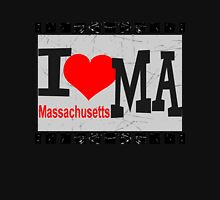 I love Massachusetts Unisex T-Shirt