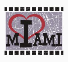 I love Miami by Nhan Ngo