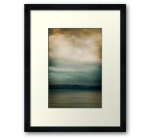 ~ let us meet in the distant land ~ Framed Print