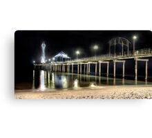 Brighton Jetty Shines Canvas Print