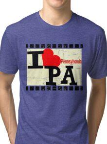 I love Pennsylvania Tri-blend T-Shirt