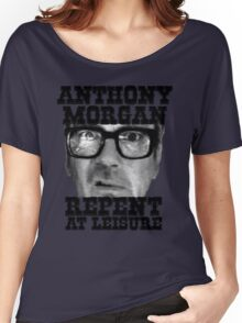 Anthony Morgan - Repent At Leisure (Black) Women's Relaxed Fit T-Shirt