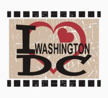 I love Washington, D.C Kids Tee