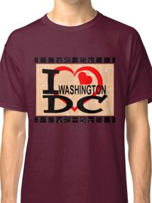 I love Washington, D.C Classic T-Shirt