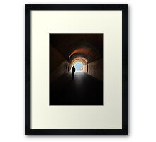 Old Monterosso tunnel Framed Print