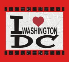 I love Washington, D.C Kids Clothes