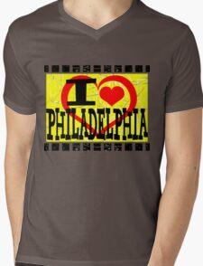 I love Philadelphia Mens V-Neck T-Shirt