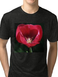 Red For My Love Tri-blend T-Shirt