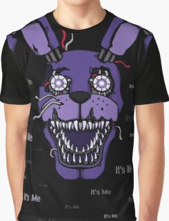Five Nights at Freddy's - FNAF 4 - Nightmare Bonnie - It's Me Graphic T-Shirt