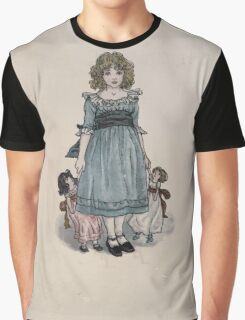 The Queen of Pirate Isle Bret Harte, Edmund Evans, Kate Greenaway 1886 0008 Frontpiece Graphic T-Shirt
