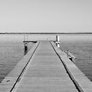 At the end of the jetty by tarsia