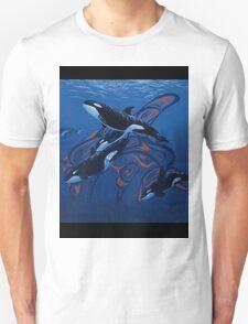 Blue Orcas T-Shirt