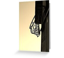 Hoop Dreams in Indiana Greeting Card