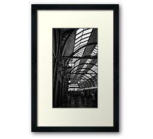 Replica Kings Cross Station Framed Print