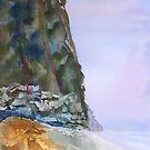 surf coast impression - i by Joel Spencer