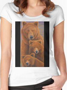 Alaska Coming 1 Women's Fitted Scoop T-Shirt