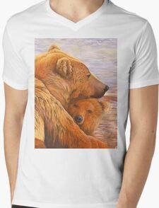 Alaska Coming 3 Mens V-Neck T-Shirt