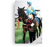 Richard Dunwoody at Sandown Park Canvas Print