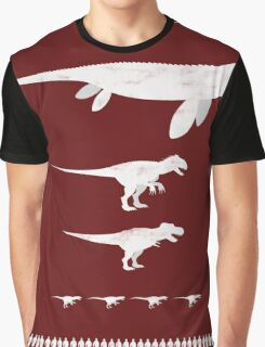Jurassic World Food Chain light Graphic T-Shirt